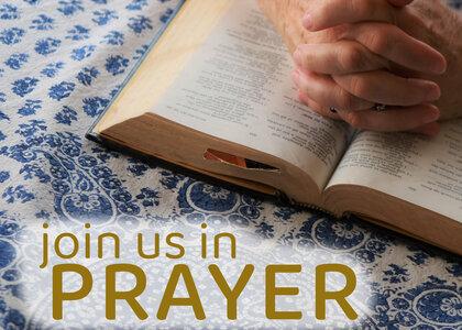 Prayer Join Us In