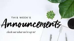 Announcements 6