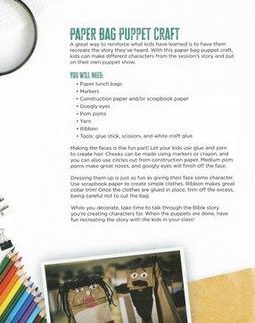 Ridge Kids Newsletter Craft