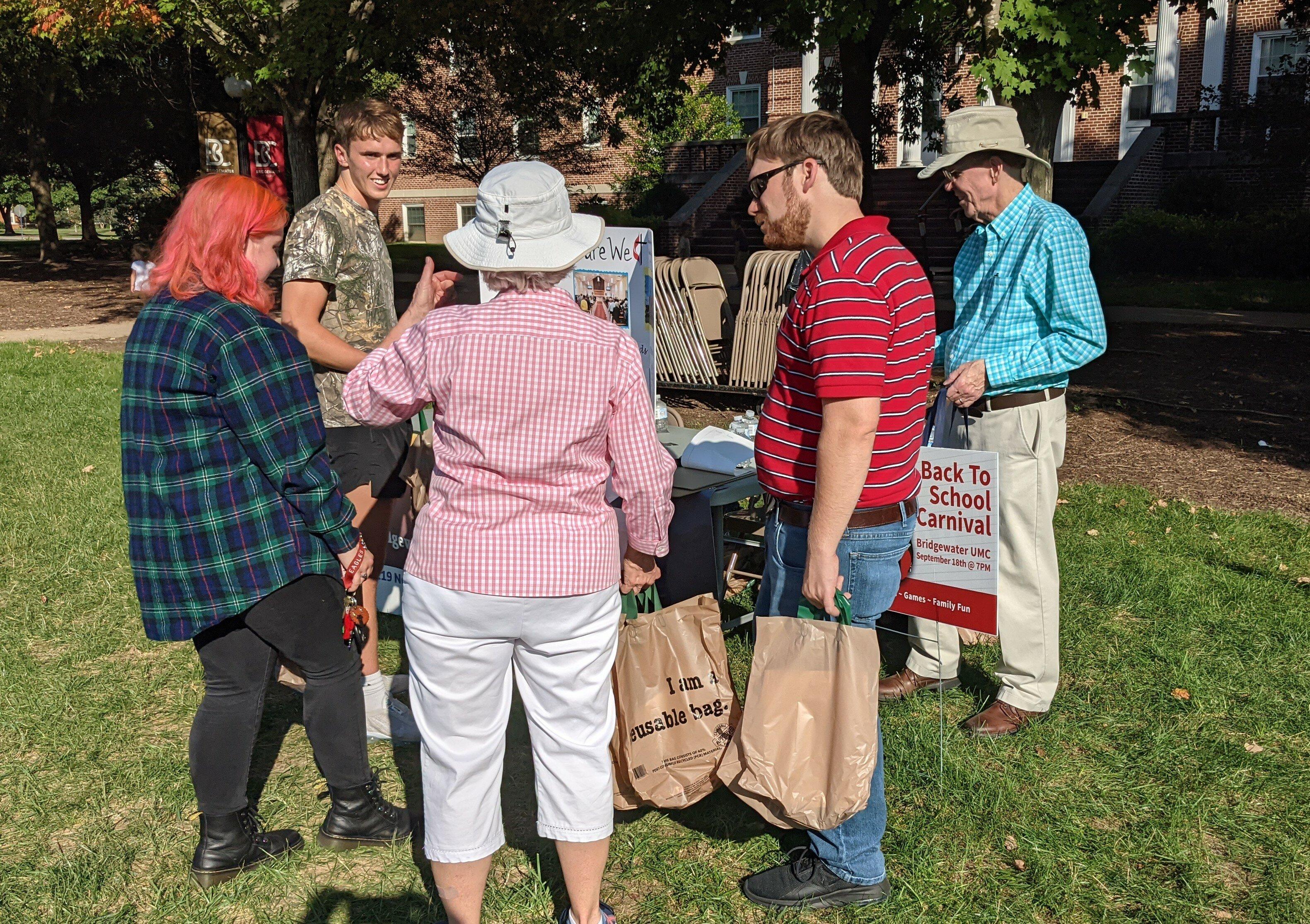 Reach & Relate at Bridgewater College Fair