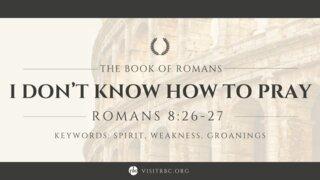 Romans Series September 12