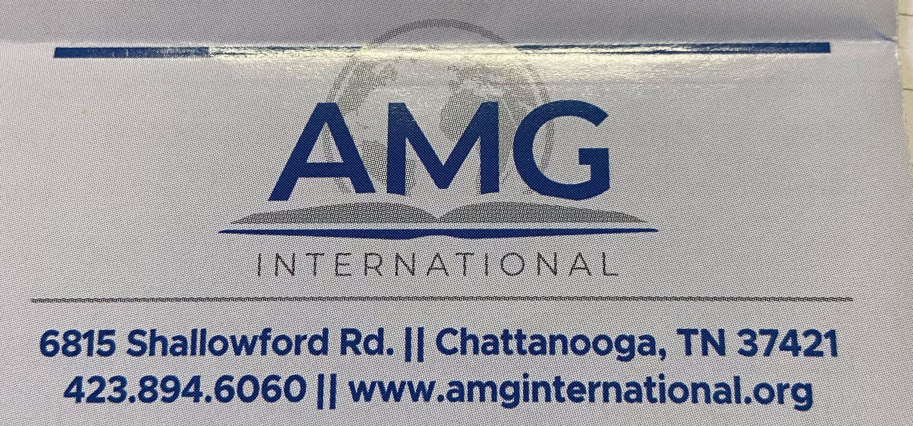Missionary Monday: AMG International