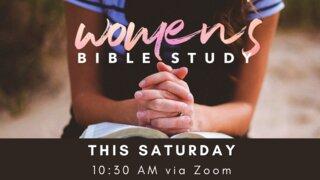 Women's Bible Study this saturday