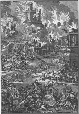 Burning Of Jerusalem