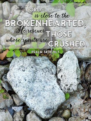 Broken Psalm 34 18