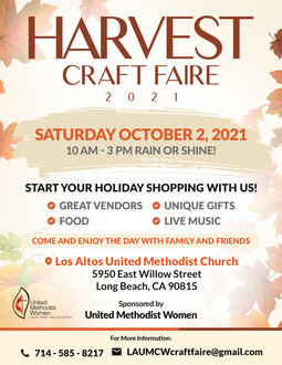 2021 Final Craft Fair For Guests