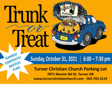 Trunk Or Treat Ad 2021