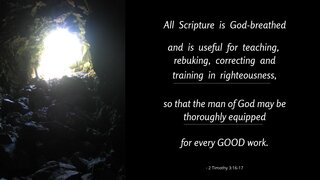 Goodness 3 All Scripture Is God Breathed