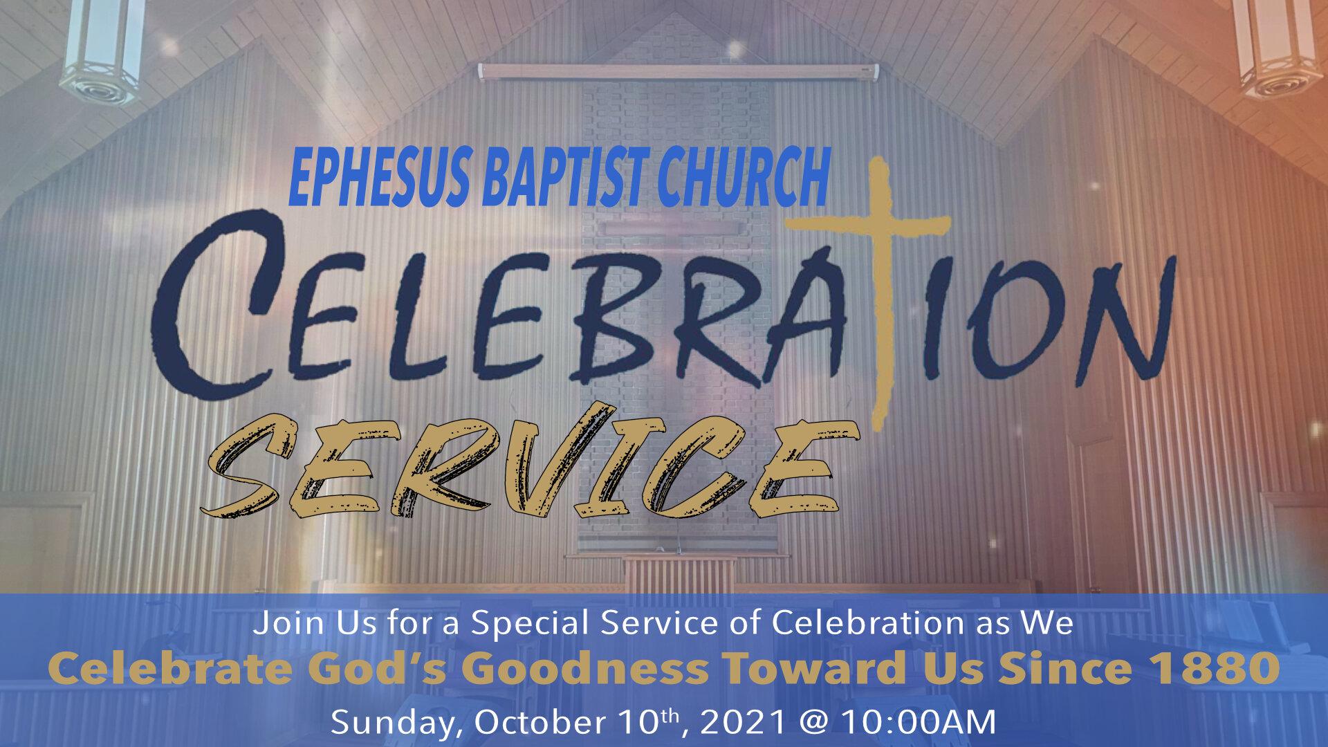 EBC Celebration Service