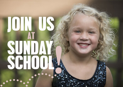Sunday School Join Us Pic Of Young Girl