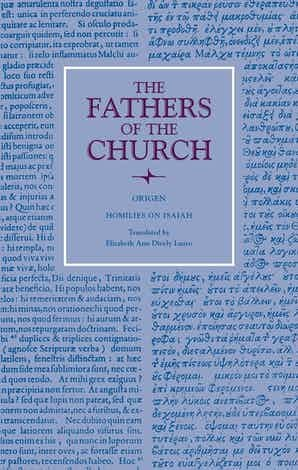 Homilies on Isaiah (The Fathers of the Church)