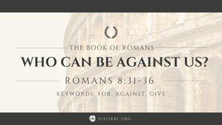 Romans Series October 3