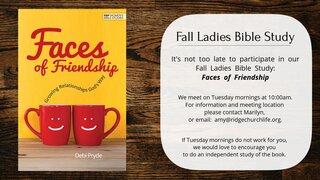 2021 Fall Ladies Bible Study 3