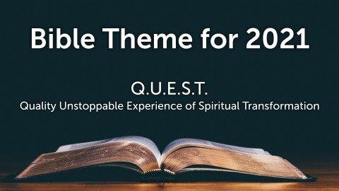 2021 Bible Theme
