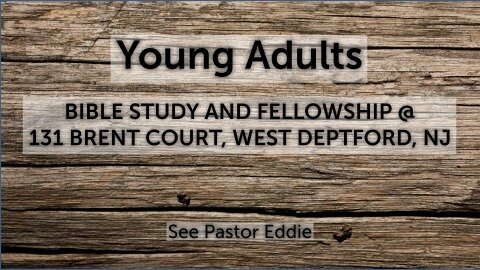 Youn Adults Small Group