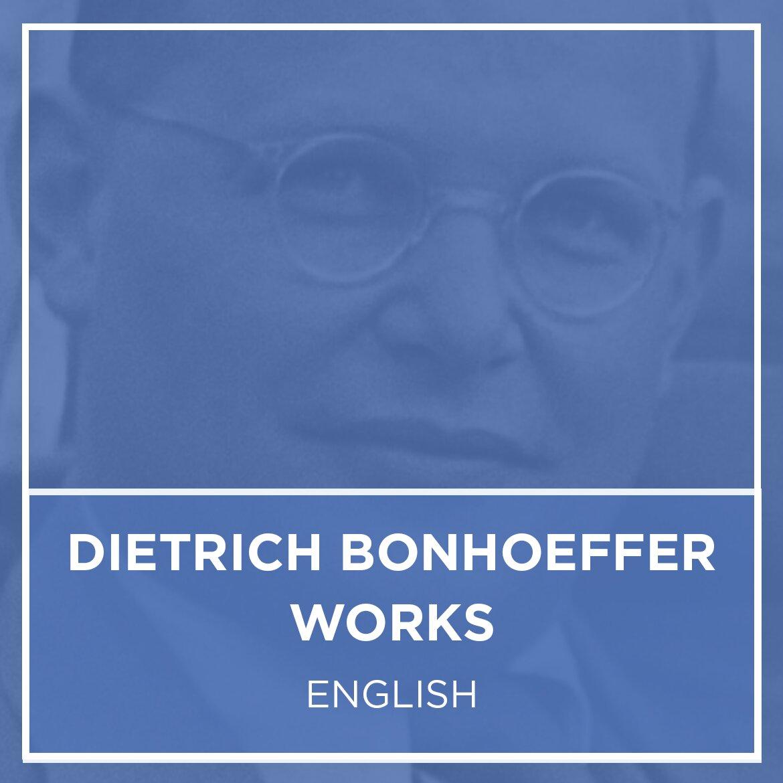 Dietrich Bonhoeffer Works Collection | DBW (17 vols.)