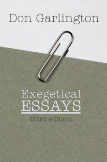 Exegetical Essays, 3rd ed.
