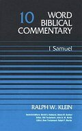1 Samuel, Volume 10 (Word Biblical Commentary | WBC)