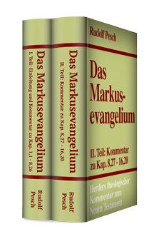 Das Markusevangelium (2 Bde.) (Herders Theologischer Kommentar zum Neuen Testament | HThKNT)