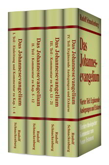 Das Johannesevangelium (4 Bde.) (Herders Theologischer Kommentar zum Neuen Testament | HThKNT)