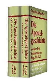 Die Apostelgeschichte  (2 Bde.) (Herders Theologischer Kommentar zum Neuen Testament | HThKNT)
