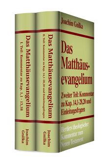 Das Matthäusevangelium (2 Bde.) (Herders Theologischer Kommentar zum Neuen Testament | HThKNT)