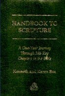 Handbook to Scripture: A One-Year Journey Through 365 Key Chapters in the Bible