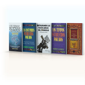 Colección raíces judías del cristianismo (5 vols.)