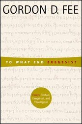 To What End Exegesis?