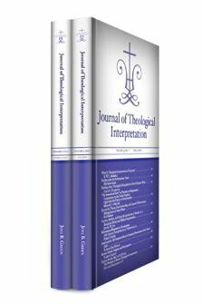 Journal of Theological Interpretation, vol. 3
