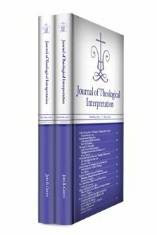 Journal of Theological Interpretation, vol. 4