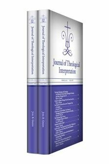 Journal of Theological Interpretation, vol. 2