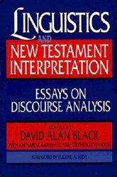 Linguistics and New Testament Interpretation