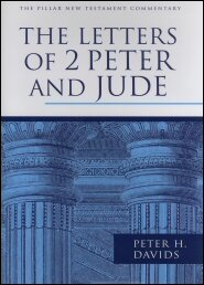 The Letters of 2 Peter and Jude (Pillar New Testament Commentary | PNTC)