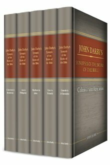 John Darby's Synopsis of the Books of the Bible (5 vols.)
