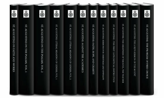Ancient Christian Writers: St. Augustine Collection (12 vols.)