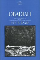Obadiah (The Anchor Yale Bible | AYB)