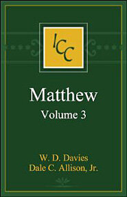 Matthew, Vol. 3 (International Critical Commentary Series | ICC)