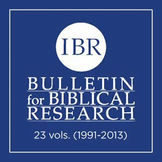 Bulletin for Biblical Research, 1991–2013 (23 vols.)