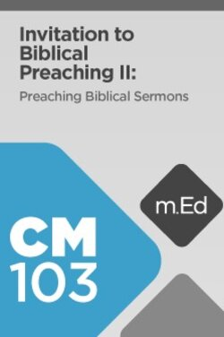 learn how to prepare a sermon outline in this preaching course