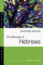 The Message of Hebrews (BST)