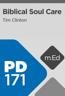 Mobile Ed: PD171 Biblical Soul Care (8 hour course)
