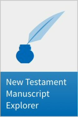 The New Testament Manuscript Explorer