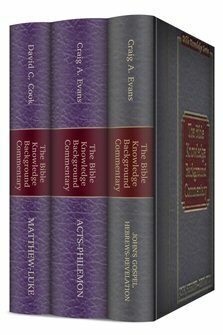 The Bible Knowledge Background Commentary: New Testament (3 vols.)