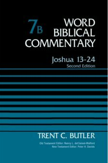 Joshua 13–24, 2nd ed., vol. 7b (Word Biblical Commentary)
