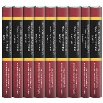 Theologisches Wörterbuch zum Alten Testament (ThWAT) (9 Bände)