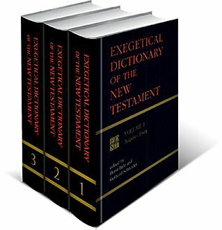 Exegetical Dictionary of the New Testament | EDNT (3 vols.)