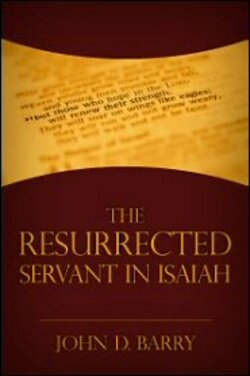image of book cover for the Resurrected Servant in Isaiah