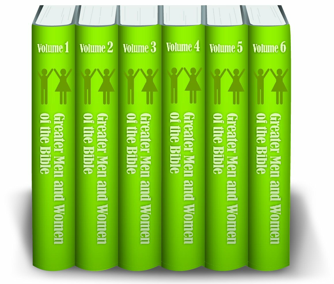 The Greater Men and Women of the Bible (6 vols.)