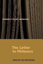 The Letter to Philemon (Eerdmans Critical Commentary | ECC)